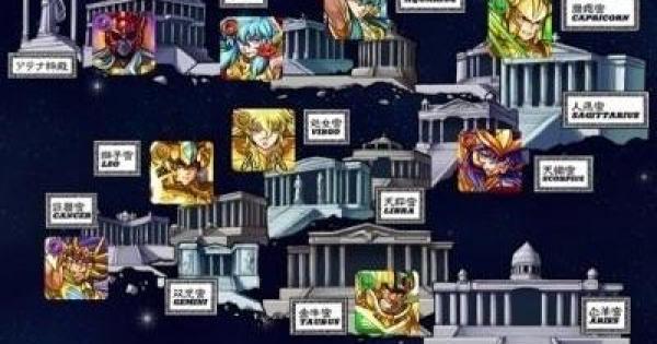 【モンスト】黄金十二宮の攻略とEXステージ出現条件|聖闘士星矢コラボ