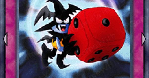 【遊戯王デュエルリンクス】悪魔のサイコロの評価と入手方法