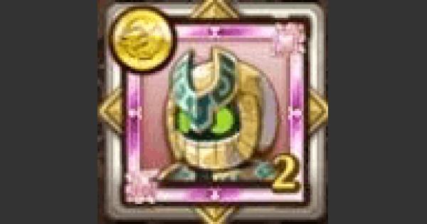 【ログレス】ゴールデンファラオのメダルの評価 モンスターメダル【剣と魔法のログレス いにしえの女神】