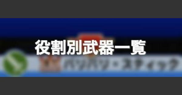 【パワプロアプリ】ダンジョン高校の役割別武器一覧【パワプロ】