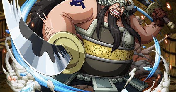 【トレクル】アトモス/白ひげ海賊団13番隊隊長の評価【ワンピース トレジャークルーズ】