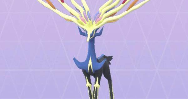 【ポケモンGO】ゼルネアスの巣とレア度&おすすめわざ