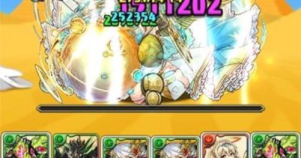 【パズドラ】ケプリ降臨(絶地獄級)ノーコン攻略と周回パーティ
