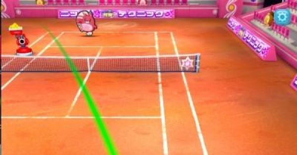 【白猫テニス】曜日クエストの攻略と報酬【白テニ】