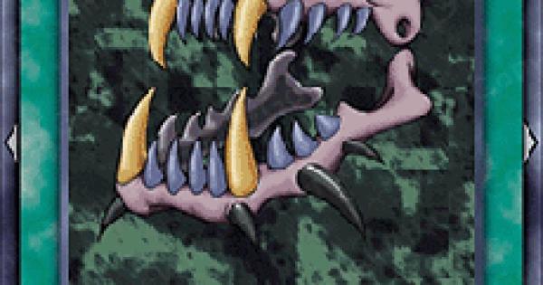 【遊戯王デュエルリンクス】猛獣の歯の評価と入手方法