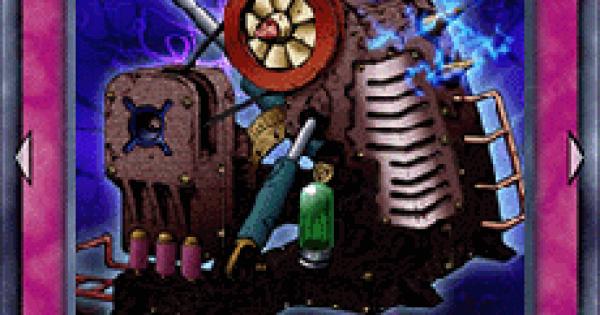 【遊戯王デュエルリンクス】零式魔導粉砕機の評価と入手方法