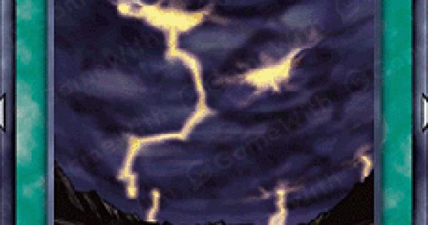 【遊戯王デュエルリンクス】雷鳴の評価と入手方法