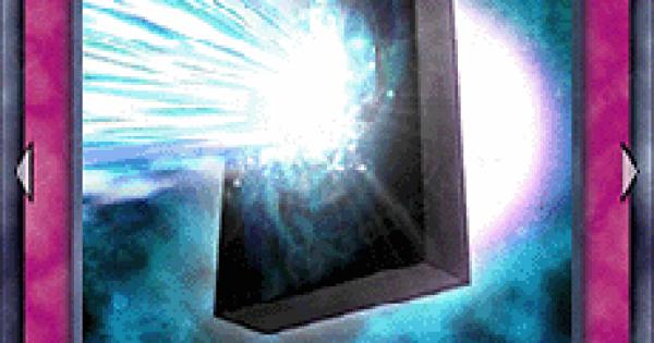 【遊戯王デュエルリンクス】エネルギー吸収板の評価と入手方法