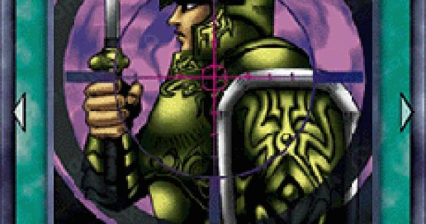 【遊戯王デュエルリンクス】戦士抹殺の評価と入手方法