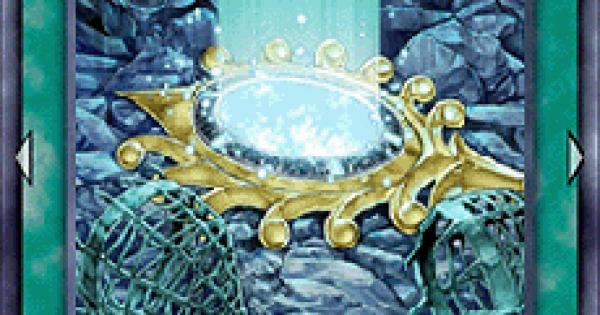 【遊戯王デュエルリンクス】儀水鏡との交信の評価と入手方法