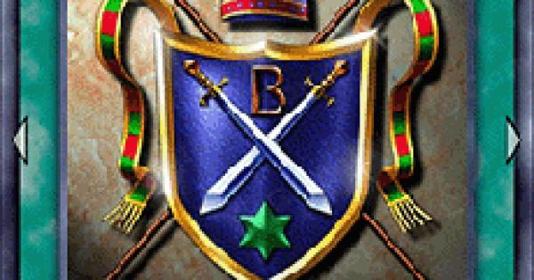【遊戯王デュエルリンクス】騎士の称号の評価と使い道