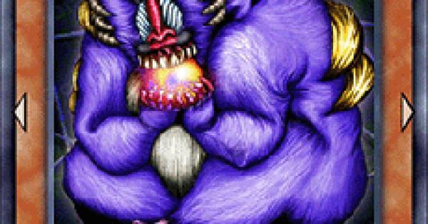 【遊戯王デュエルリンクス】魂を喰らう者バズーの評価と入手方法