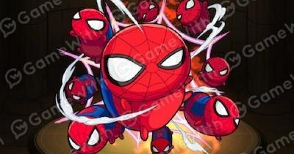 【モンスト】スパイダーマンの最新評価と適正クエスト|マベツムコラボ