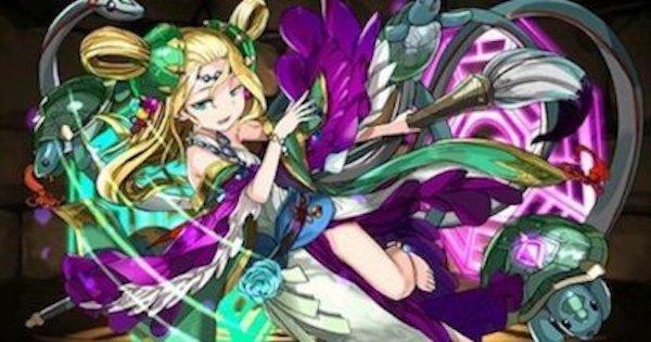 【パズドラ】闇メイメイの最新テンプレパーティ(闇メイメイパ)