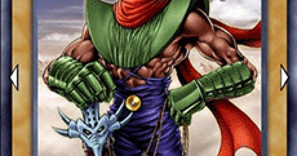 【遊戯王デュエルリンクス】ゼラの戦士の評価と入手方法