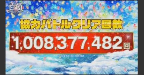 【白猫】10億バトルフェスのキャンペーン内容まとめ