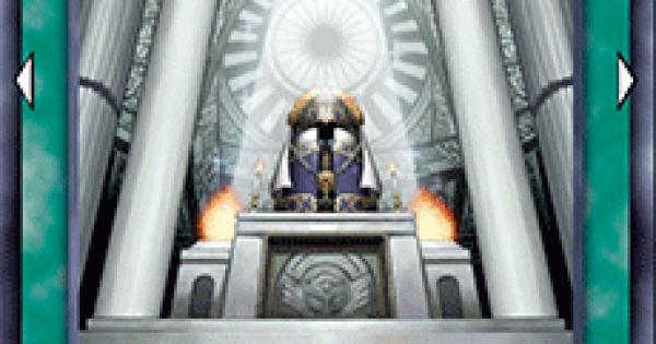 【遊戯王デュエルリンクス】救世の儀式の評価と入手方法