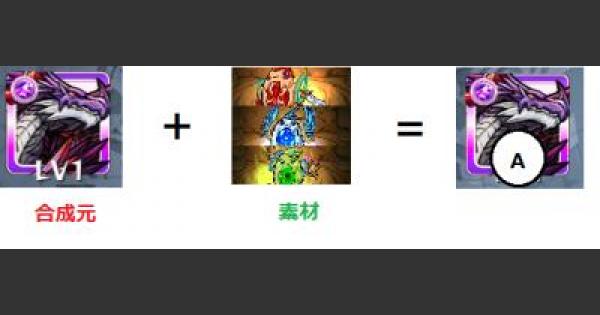 【モンスト】タスキャッチ(強化合成)で運極タスカンを作るやり方