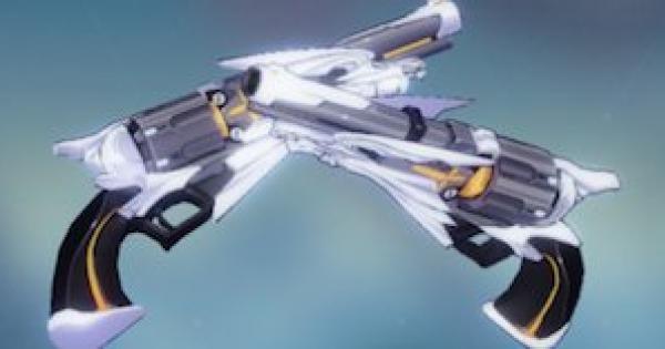 【崩壊3rd】2nd聖遺物の評価と武器スキル
