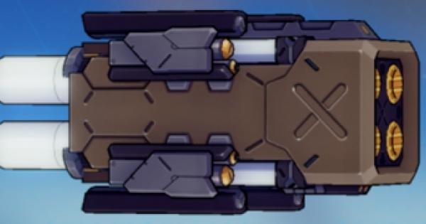 【崩壊3rd】分裂ミサイル・ストライカーの評価と武器スキル