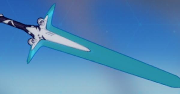 【崩壊3rd】窒素結晶剣の評価と武器スキル