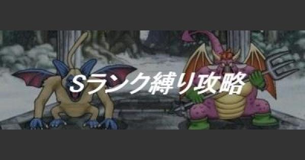 【DQMSL】「レジェンドチャレンジDQ2」Sランク縛り攻略!