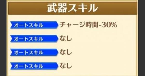 【白猫】限定キャラモチーフ武器のオートスキル1つ判明!