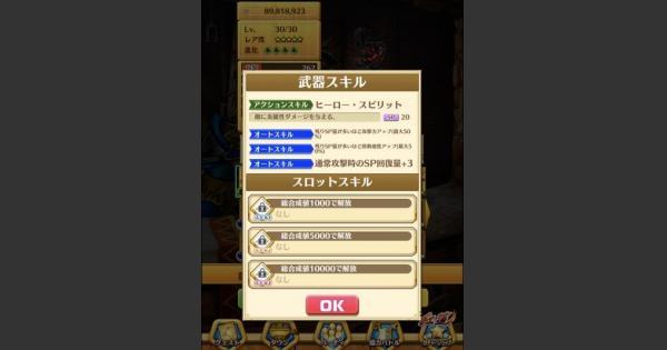 【白猫】限定キャラのモチーフ武器のオートスキルとステータス判明!