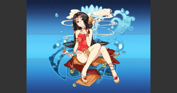 【崩壊3rd】姫軒轅・水遊びの評価とスキル