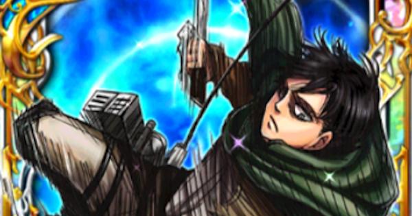 【黒猫のウィズ】リヴァイ(進撃の巨人コラボ/自己犠牲魔術)の評価