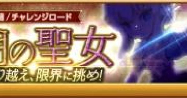 【ログレス】チャレンジロード「光明の聖女」の攻略|1人戦闘【剣と魔法のログレス いにしえの女神】