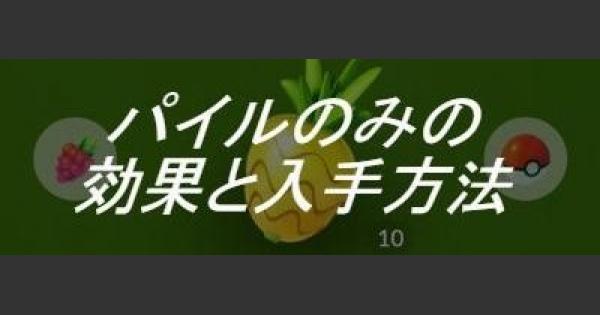 【ポケモンGO】パイルのみの効果と効率の良い使い方