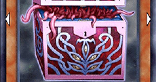 【遊戯王デュエルリンクス】暗黒のミミックLV3の評価と入手方法