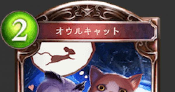 【シャドバ】オウルキャットの評価と採用デッキ【シャドウバース】
