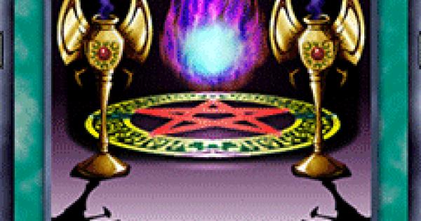 【遊戯王デュエルリンクス】カオス黒魔術の儀式の評価と入手方法