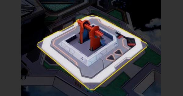 【崩壊3rd】指揮訓練所のバフ効果と必要素材