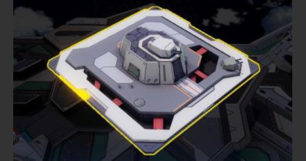 【崩壊3rd】射撃訓練所のバフ効果と必要素材