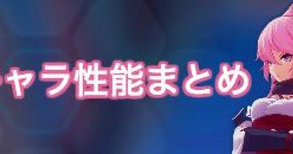 【崩壊3rd】S八重桜とA八重桜はどっちが当たり?新キャラ性能まとめ!