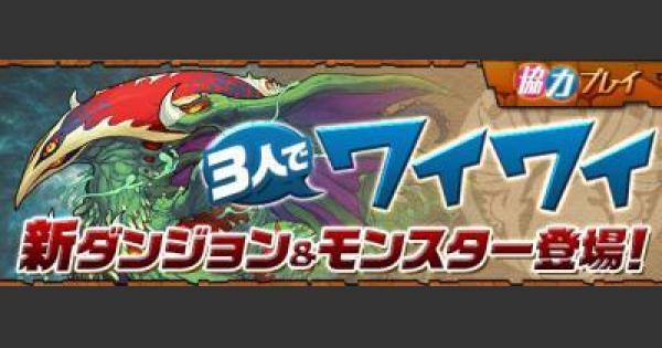 【パズドラ】協力闘技場 B16〜B23のダンジョンデータ