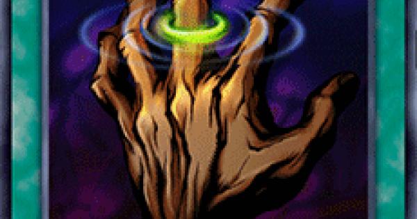 【遊戯王デュエルリンクス】磁力の指輪の評価と入手方法