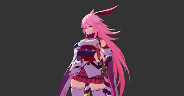 【崩壊3rd】A八重桜(逆神の巫女)の評価 | おすすめ武器・聖痕