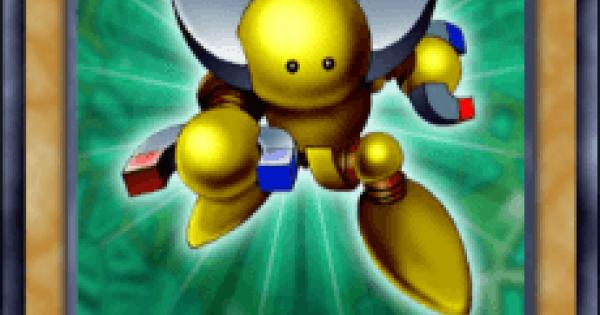 【遊戯王デュエルリンクス】磁石の戦士βの評価と入手方法