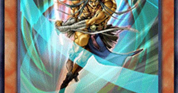 【遊戯王デュエルリンクス】剣聖ネイキッドギアフリードの評価と入手方法