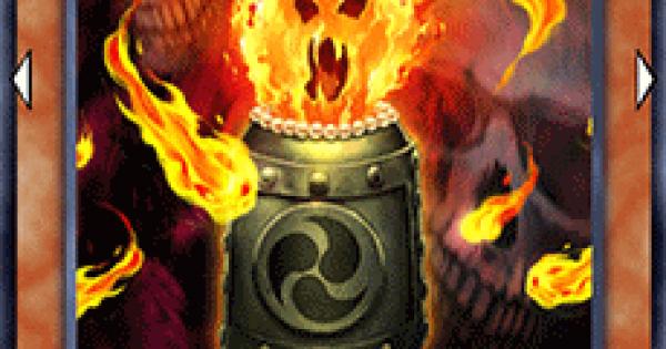 【遊戯王デュエルリンクス】怨念の魂業火の評価と入手方法