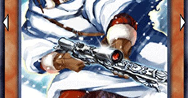 【遊戯王デュエルリンクス】白銀のスナイパーの評価と入手方法