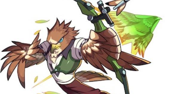 【ファイトリーグ】猛禽一の弓鳥フェザーの評価と使い方