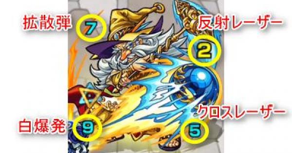 【モンスト】ラザニコフ【極】攻略「欺瞞の閃光と老魔導師」適正パーティ
