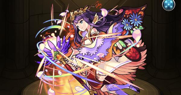 【モンスト】紫苑〈しおん〉の最新評価!適正神殿とわくわくの実