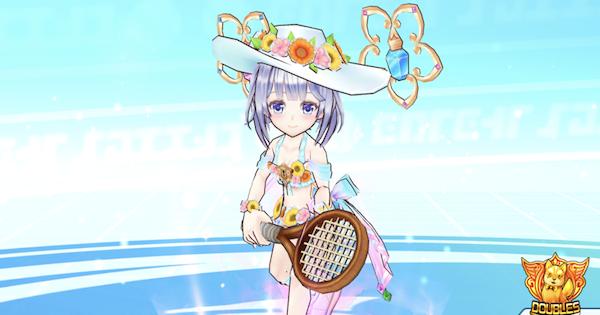 【白猫テニス】夏ティナ(神気)の評価とおすすめギア | 夏ガチャ【白テニ】