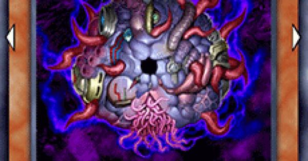 【遊戯王デュエルリンクス】融合呪印生物闇の評価と入手方法